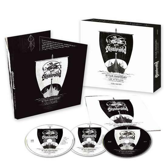 Skálmöld - 10 Year Anniversary - Live In Reykjavik 2CD+BluRay