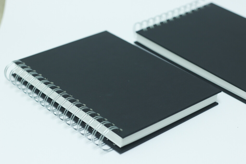 A5 Black Sketchbook - Artway