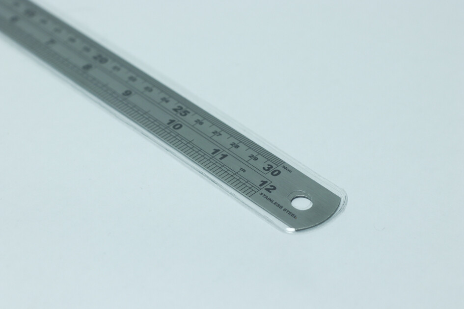 Stainless Steel Ruler 30cm / 12 inches