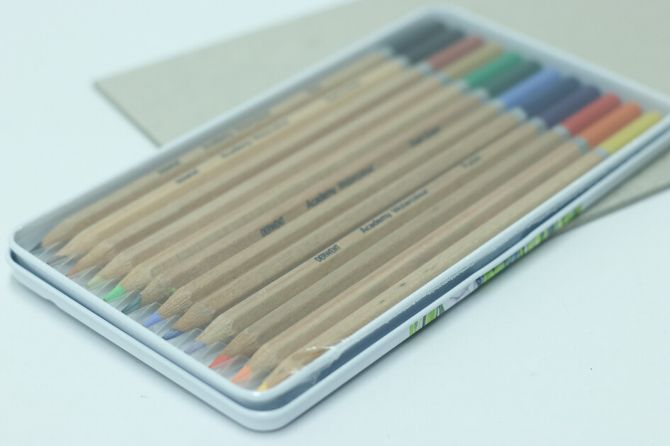 Derwent Academy Watercolour Pencils