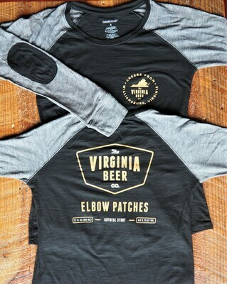 Elbow Patches Long Sleeve Tee