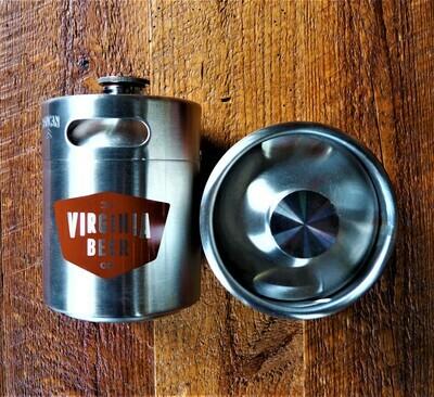 Stainless Steel Keg Growler