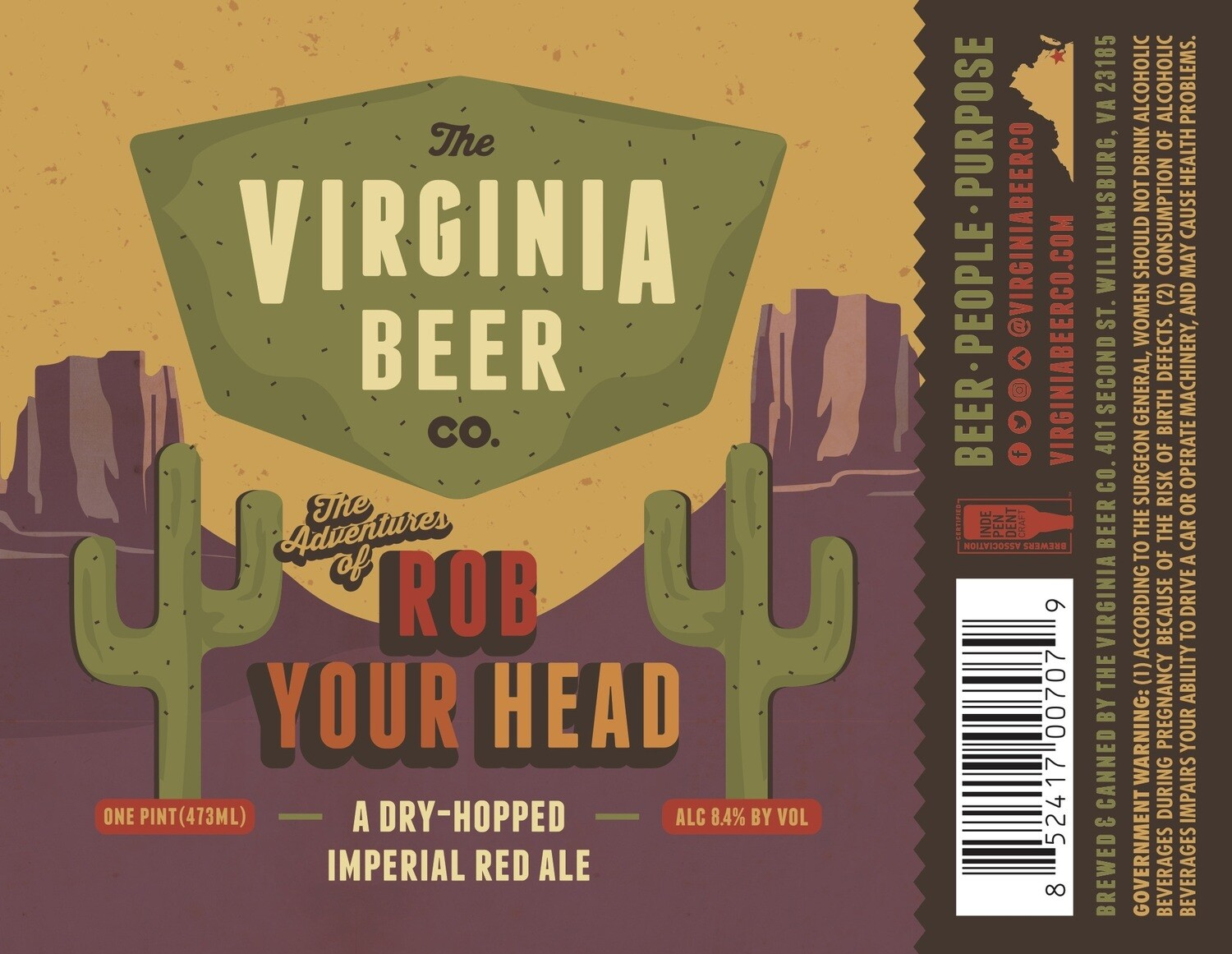 Rob Your Head Imperial Red - 4-Pack