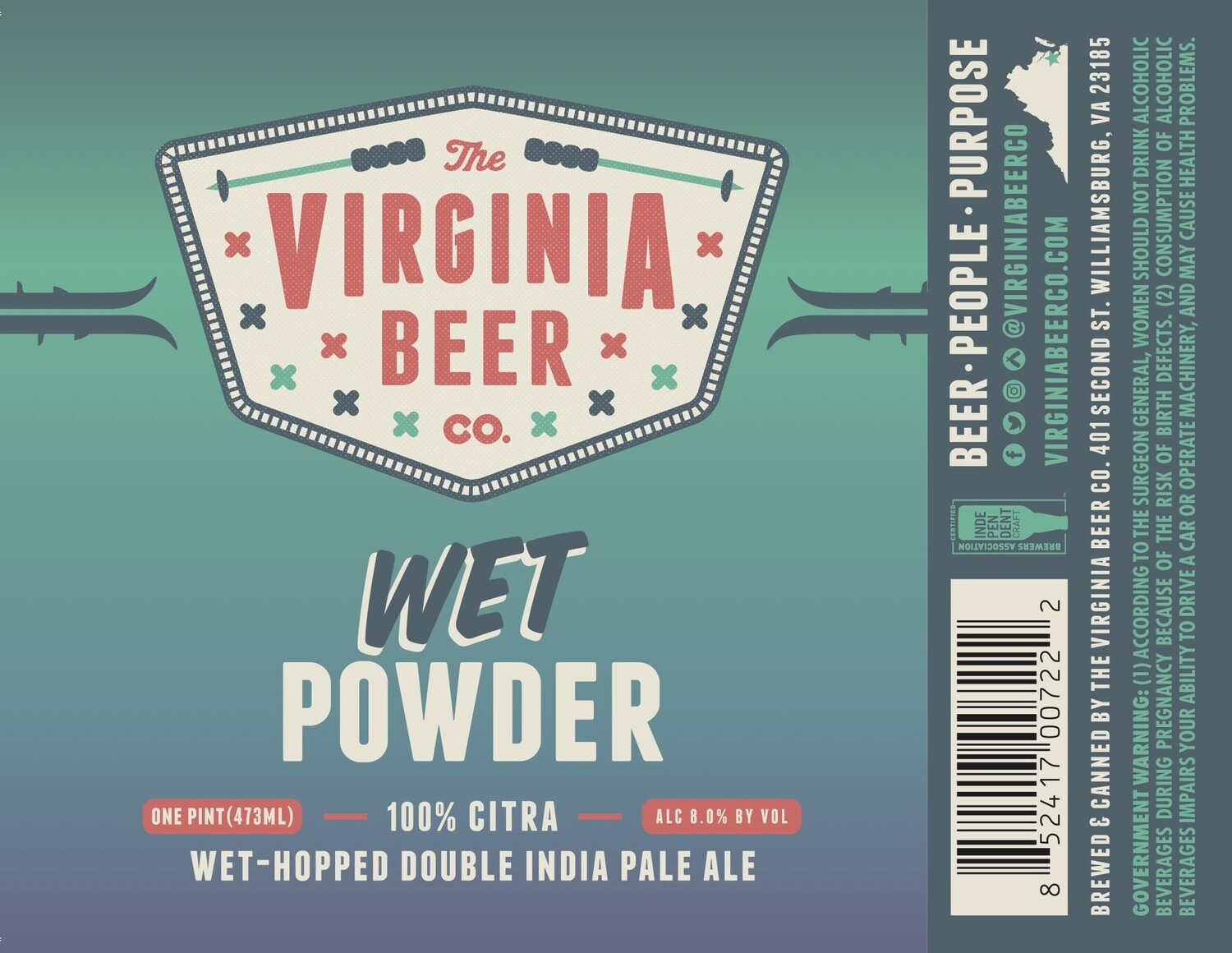 Wet Powder Double IPA - 4-Pack