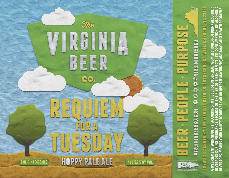 Requiem For A Tuesday Hoppy Pale Ale - 4-Pack