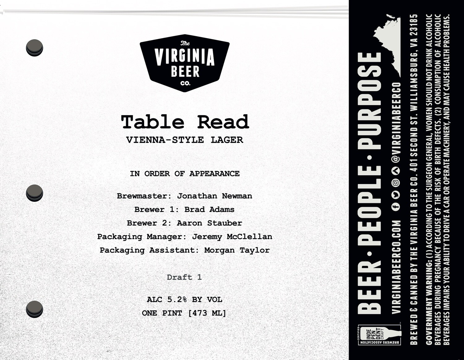 Table Read Vienna Lager - 4-Pack