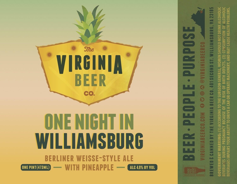 One Night In Williamsburg Berliner Weisse - 4-Pack