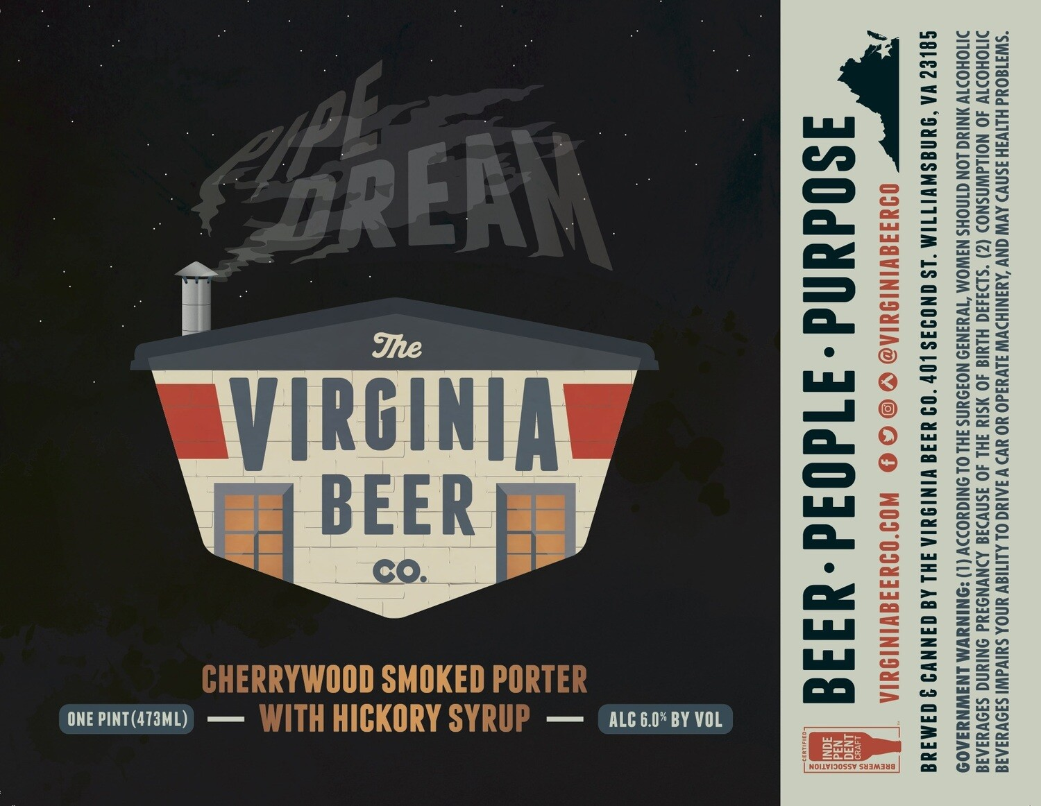 Pipe Dream Smoked Porter - 4-Pack
