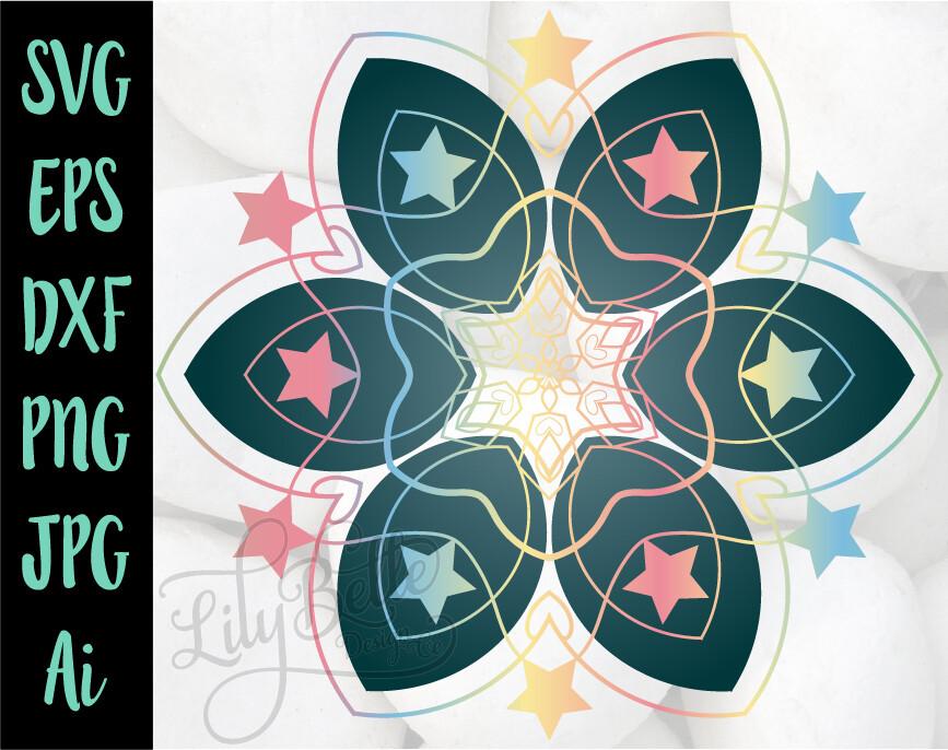 Stars in Flower Mandala