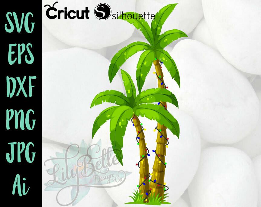 Christmas Palm Tree SVG