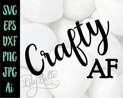 Crafty AF SVG