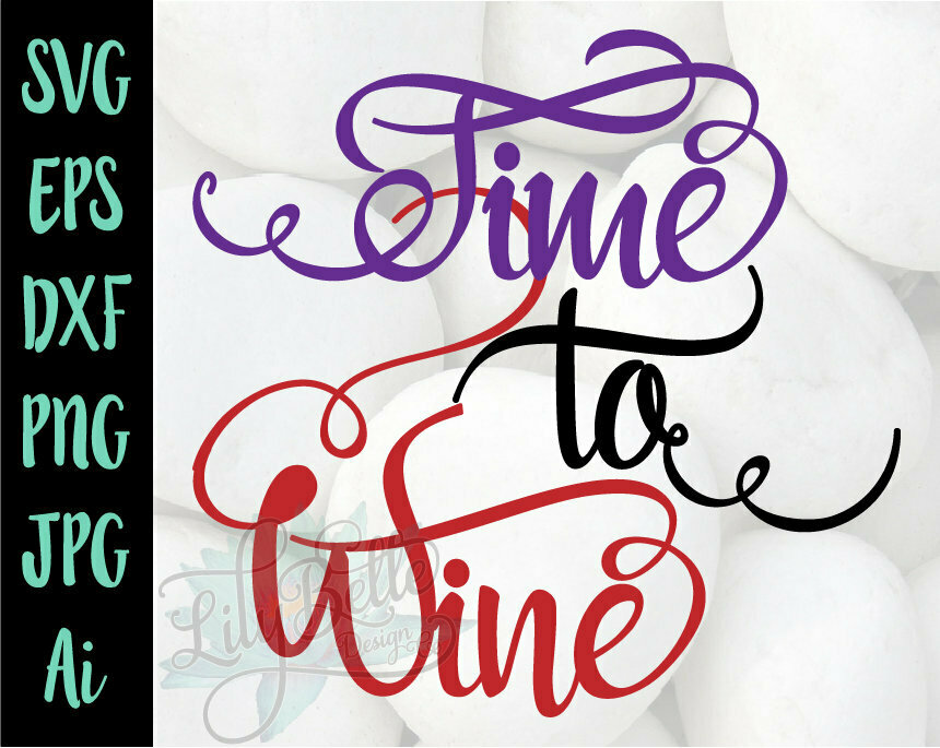 Time to Wine SVG