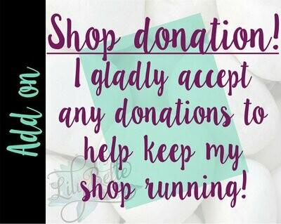Shop Donation