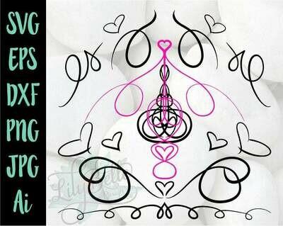 Swirls & Flourishes Bundle SVG