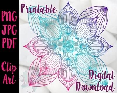 Flower Mandala 7.15