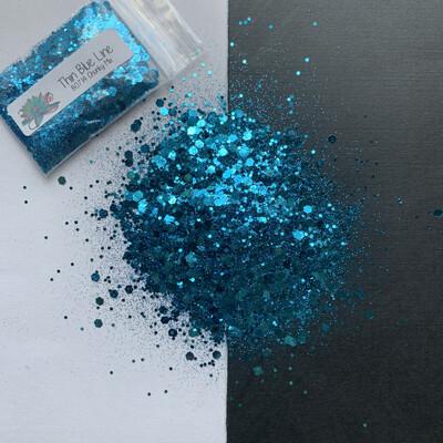 Thin Blue Line Chunky Mix