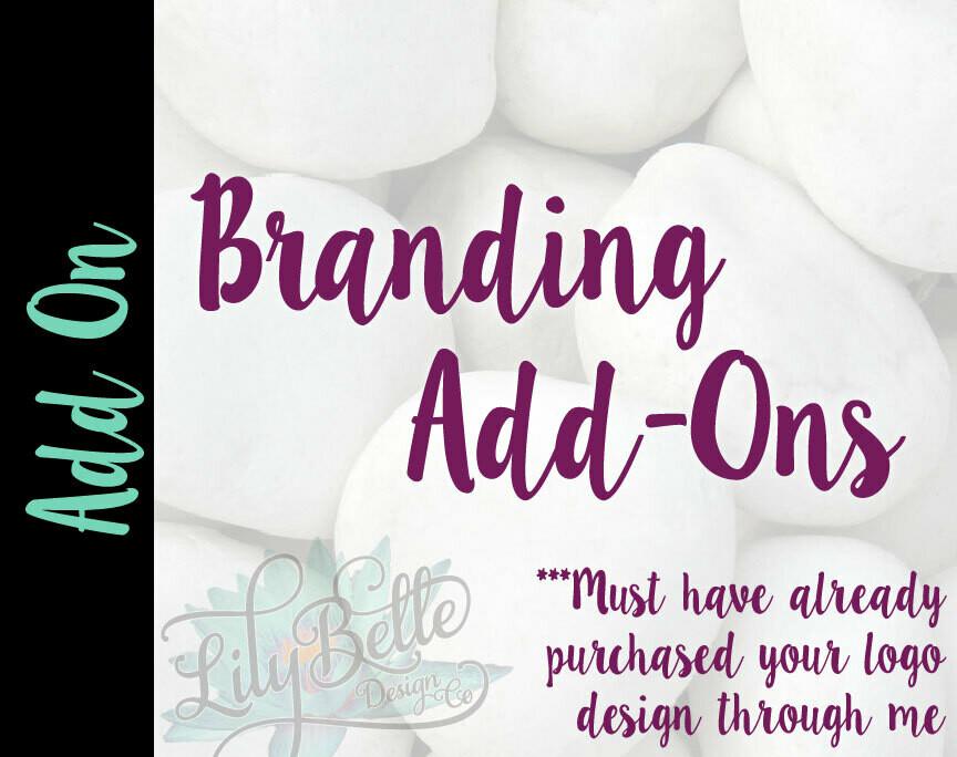 Branding Add-Ons
