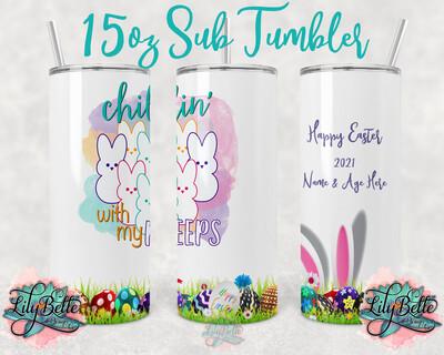 Easter Sublimation Tumbler 15oz