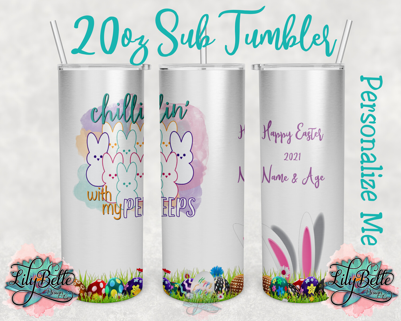 Easter Sublimation Tumbler 20oz