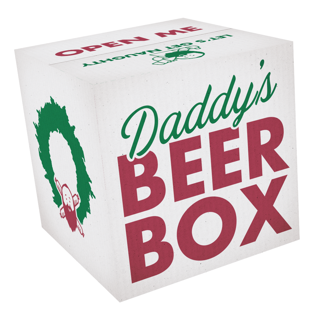 Daddy's Beer Box - Holiday Edition
