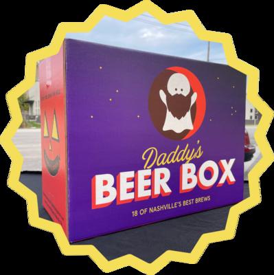 Halloweenie Beer Box