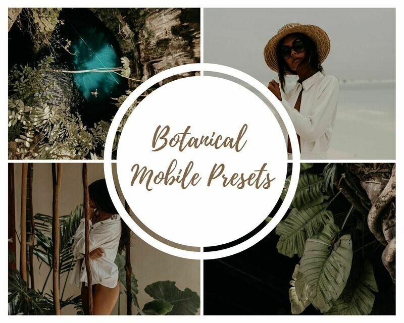 Botanical Mobile Presets Vol. 6- Karina Wiebe