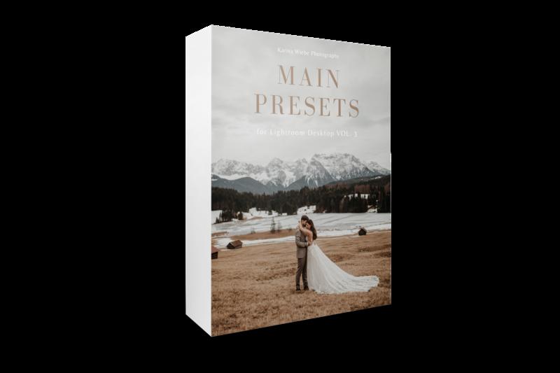 Main Presets  Vol 3- Desktop Version 3.0