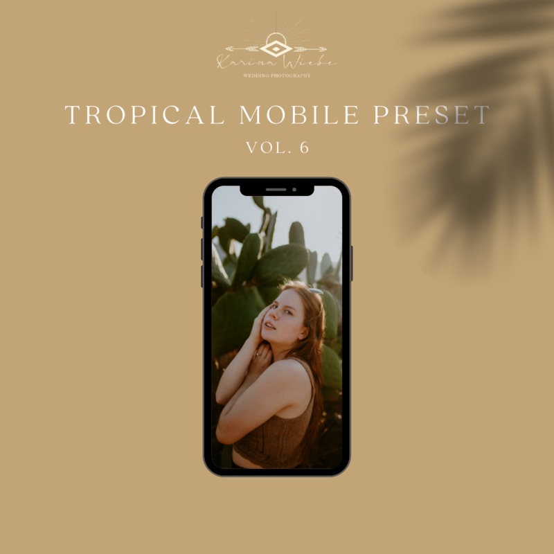 Tropical Mobile Presets Vol. 6- Karina Wiebe