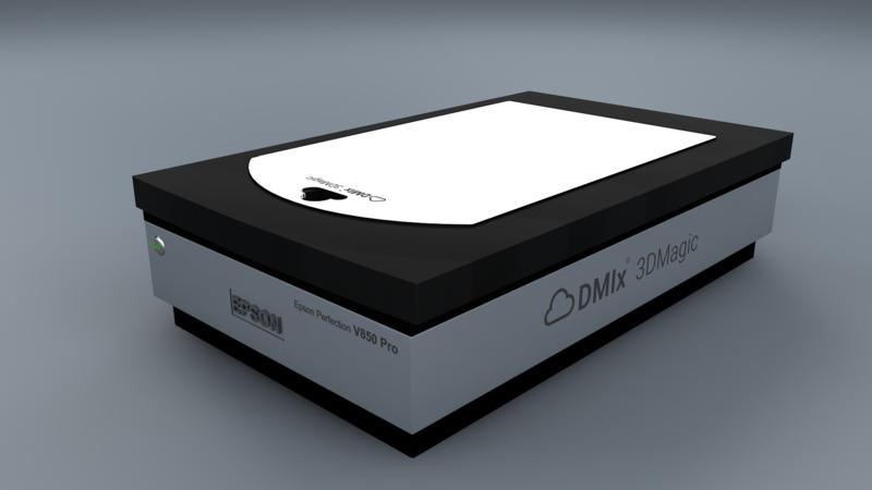 DMIx 3DMagic Scancover