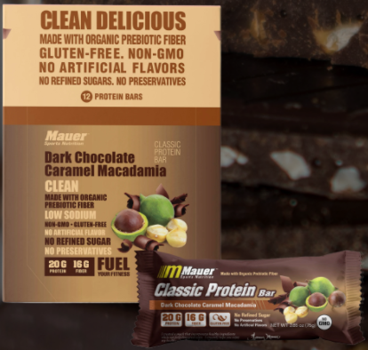 Mauer- Dark Chocolate Caramel Macadamia