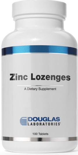 Zinc Lozenges- Natural Orange Flavor