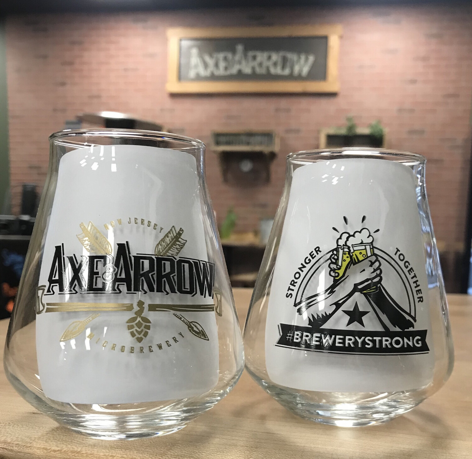 Brewery Strong Glasses