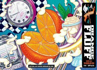 Orange Fluff - 4pk