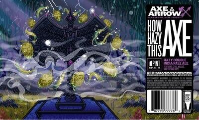 How Hazy This Axe - 4pk