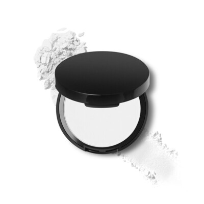 Pressed Blotting Powder in Compact with Mirror and Puff