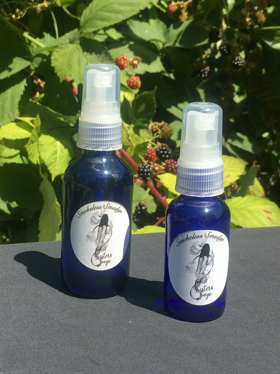 SISTERS SAGE Smokeless Smudge Spray 2oz