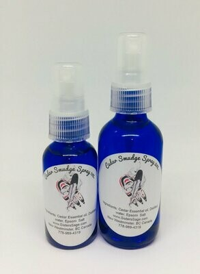 SISTERS SAGE Cedar Smudge Spray 1oz