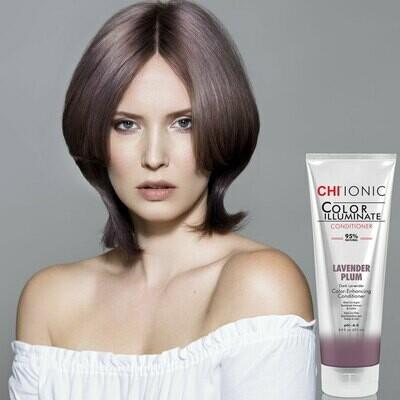 Chi Color Illuminate Conditioner Lavender Plum 8.5oz