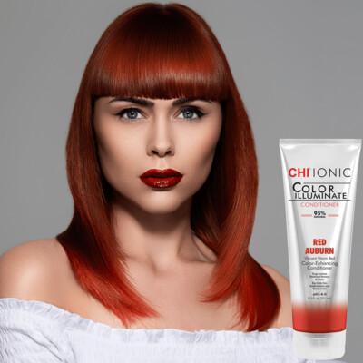 Chi Color Illuminate Conditioner Red Auburn 8.5oz