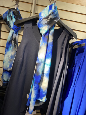 Sympli Trunk Show Whisper Scarf Gypsy Blues