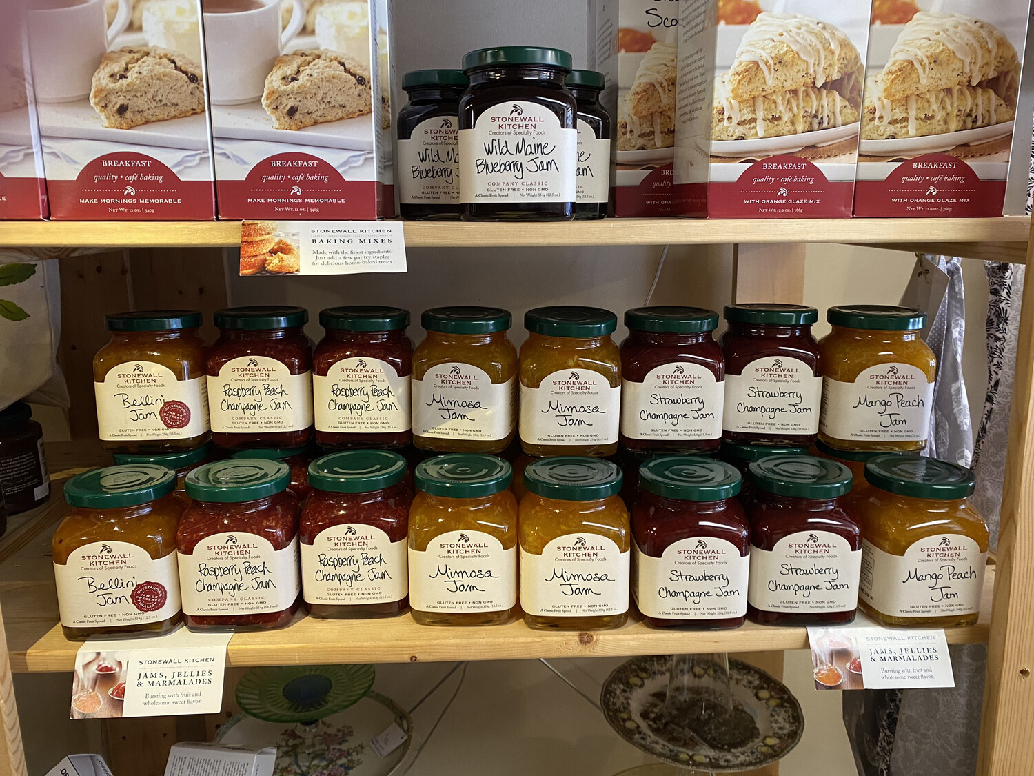 Stonewall Kitchen    Jams And Preserves.  Tap For Choices