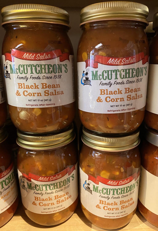 McCutchens Black Bean Corn Salsa