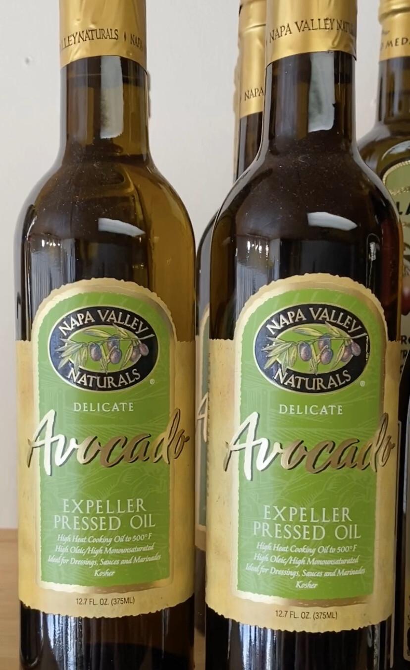 Napa Valley Naturals Avocado Oil. Whole, Tree-ripened Avocados.12.7oz