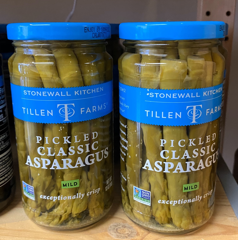 Tillen Farms Spicy Pickled Classic Asparagus