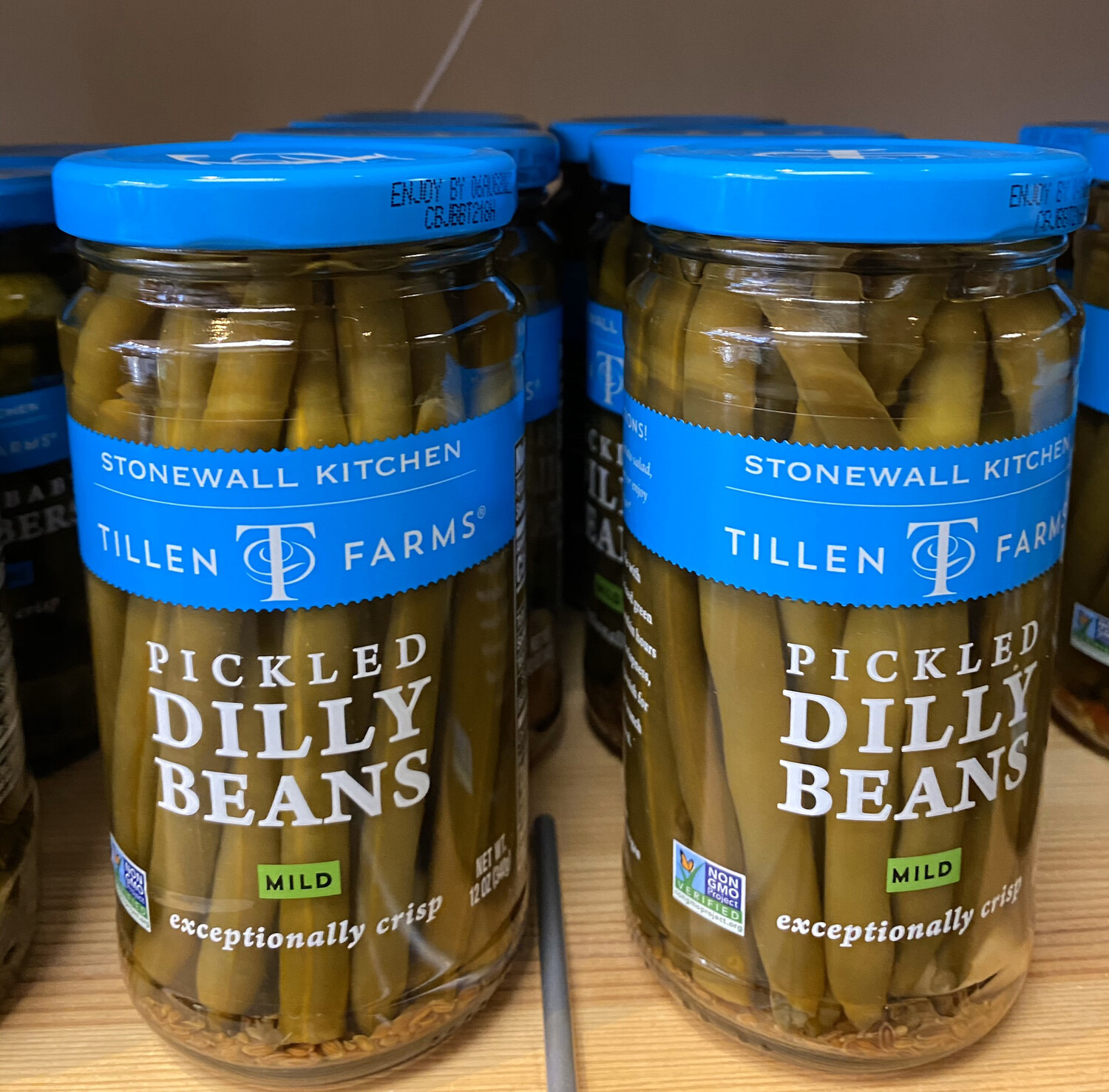 T.F. Pickled Dilly Beans. Mild