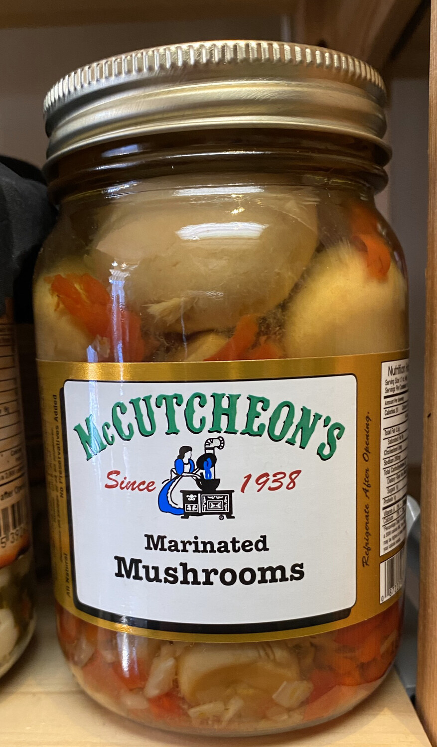 McCutcheon's Marinated Mushrooms