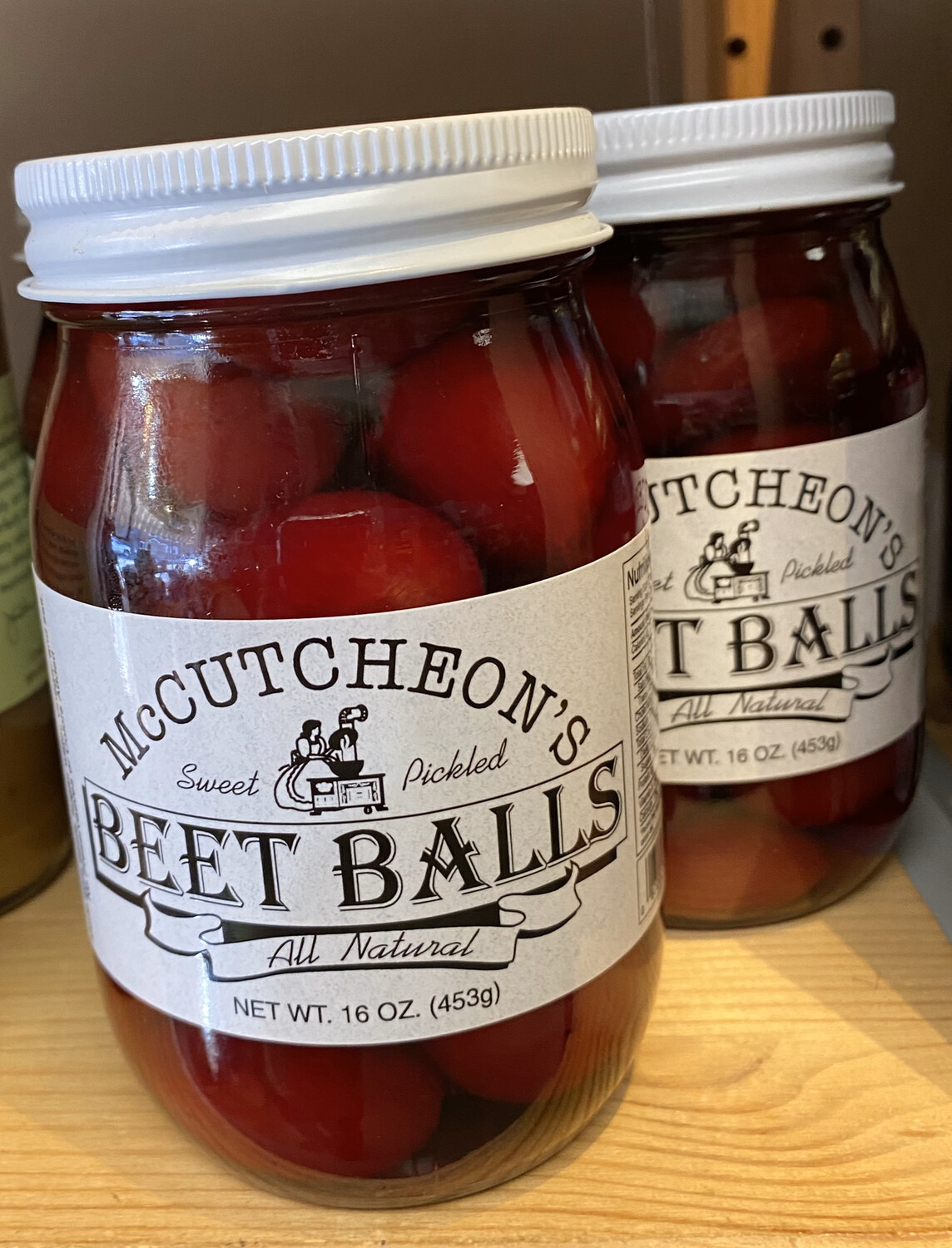 McCutcheon's Beet Balls Non Spicy