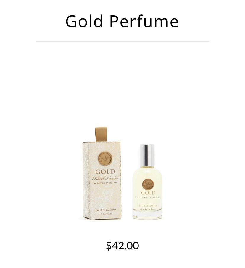 Niven Morgan Gold Perfume
