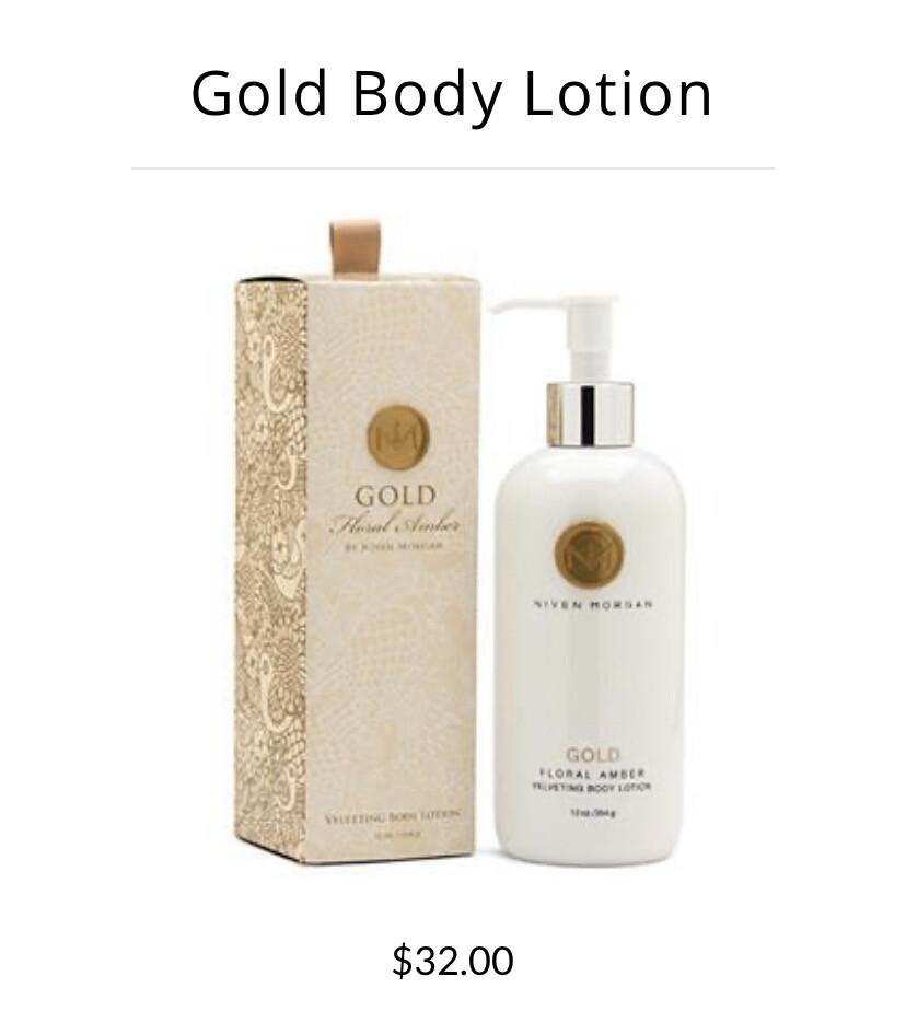 Niven Morgan Gold Body Lotion