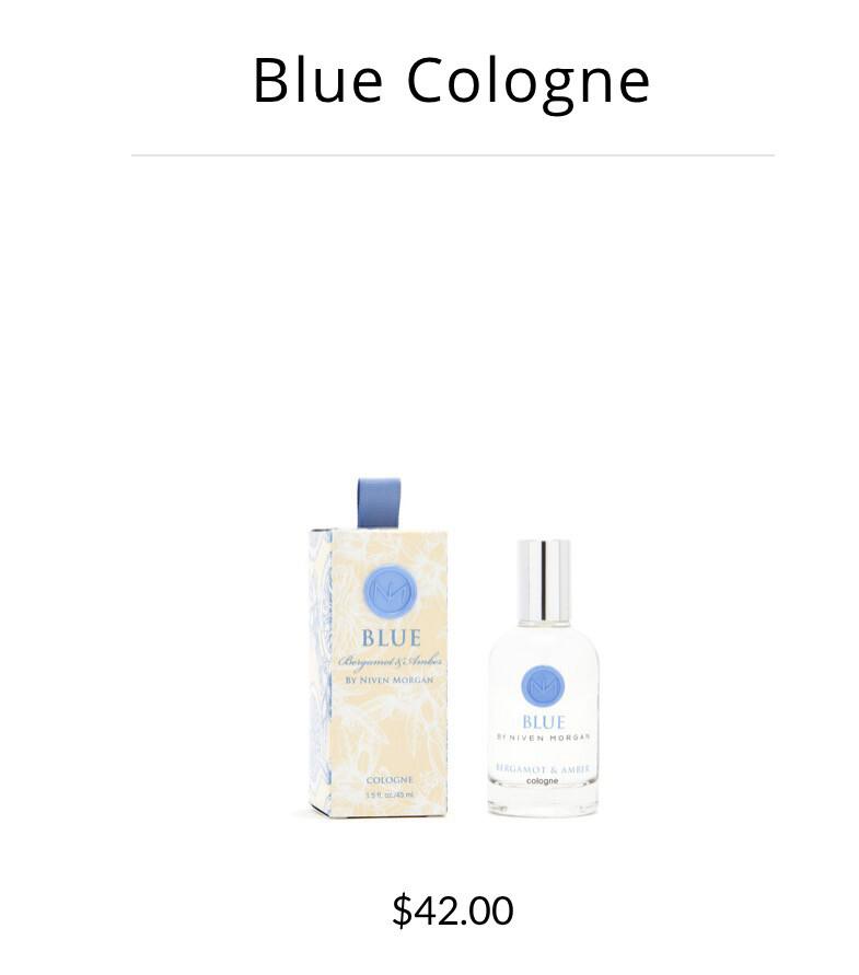 Blue Bergamot Cologne